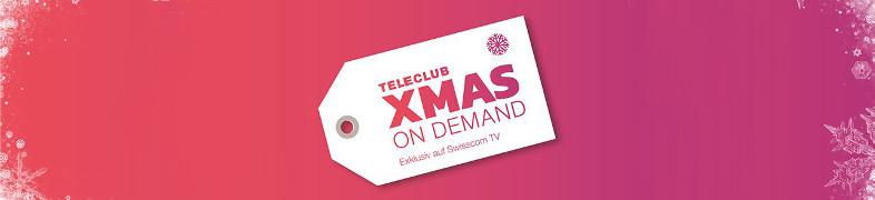 Der TeleClub XMAS on Demand Adventskalender ist da