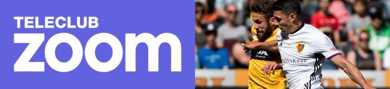 TeleClub Zoom startet mit dem Fussball-Knüller YB gegen Basel furios ins Programm!